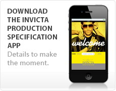 Invicta Production Specification app