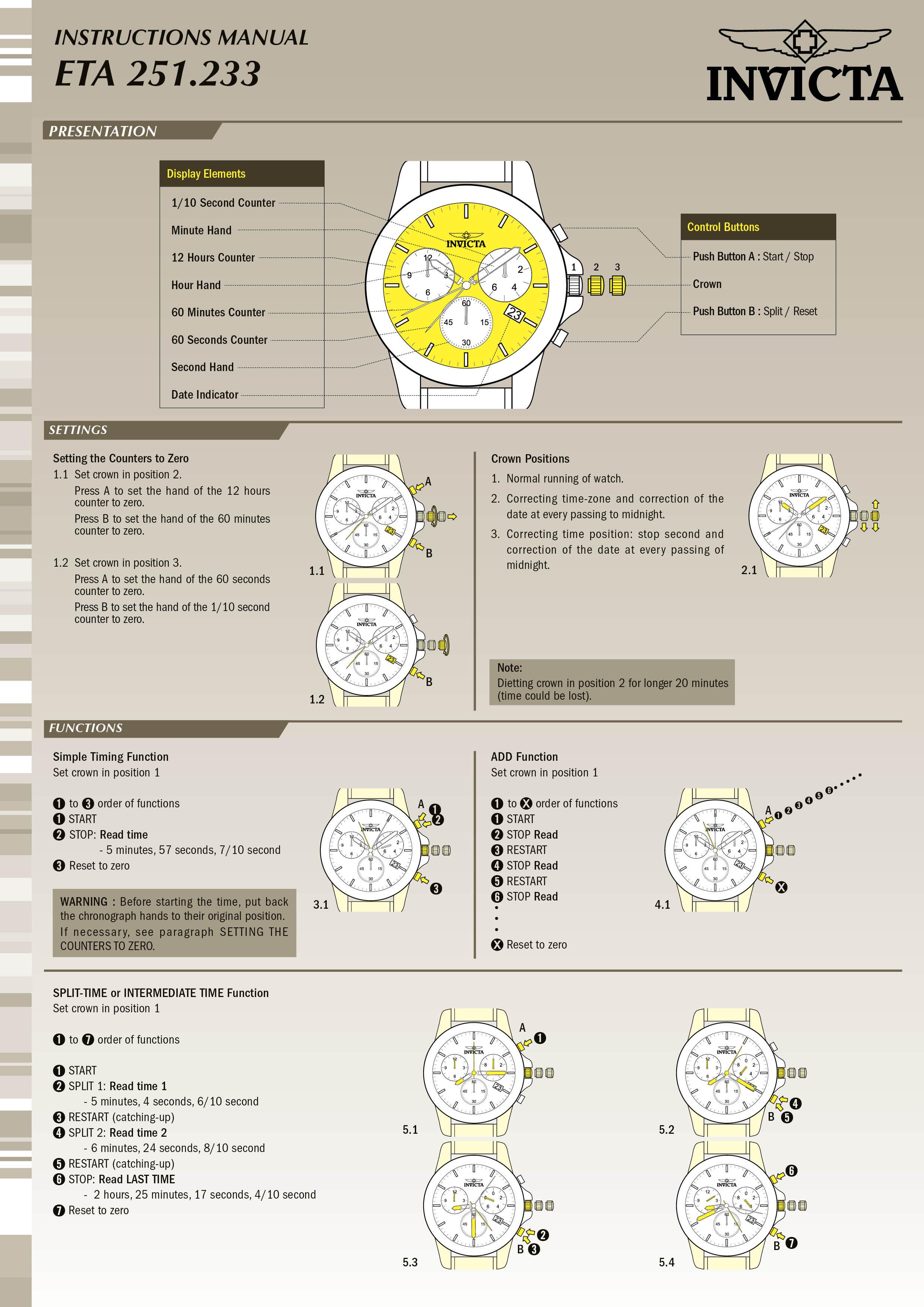 reserve model 12899 invictawatch com rh invictawatch com invicta watch manual model 21706 invicta watch manual 18737