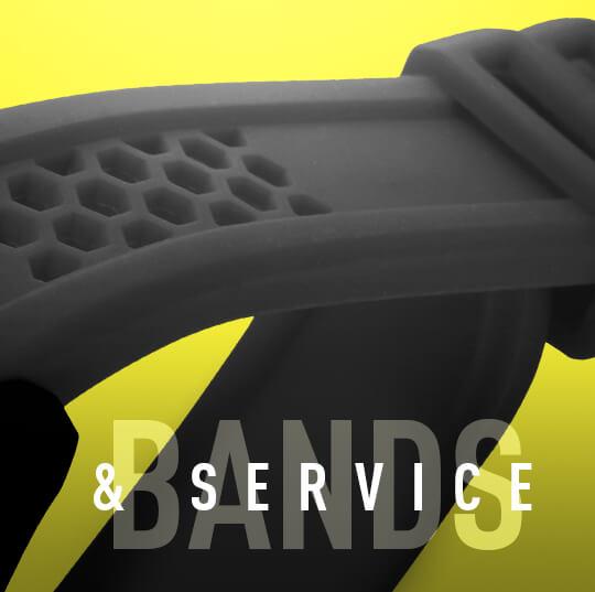 Service & bands