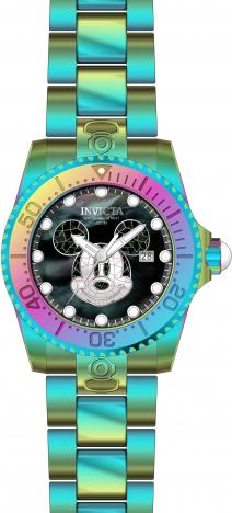 c5e3e544333 Invicta Disney Mickey Irridescent GD Watch