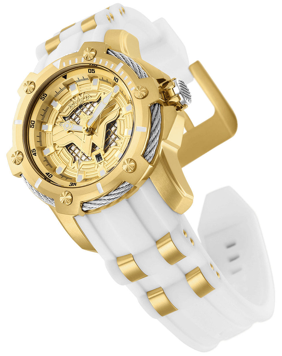 INVICTA DC Comics Lady 39.5mm Stainless Steel Gold dial PC22A Quartz