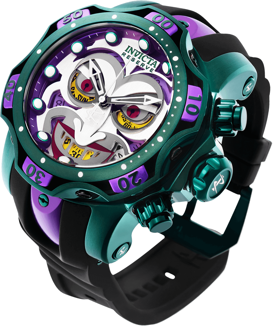 Image of INVICTA Venom Men 53.7mm Stainless Steel Rose Gold + Stainless Steel Rose Gold+Blue dial Z60 Quartz