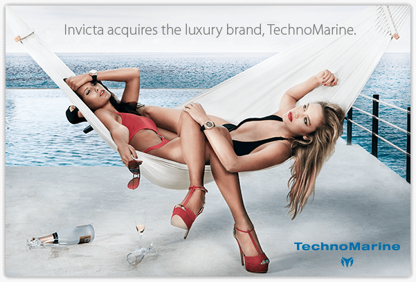 Invicta acquires the luxury brand, TechnoMarine.