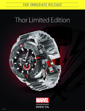 Marvel Thor Limited Ed